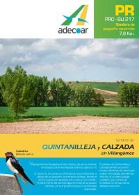 Sendero de Quintanilleja y Calzada